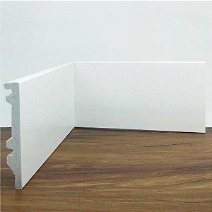 Rodapé Liso Branco 10 Cm