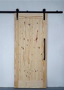 Porta De Madeira De Correr De 1 Painel Celeiro Goede 110X220 CM