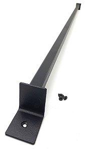 Puxador De Porta de Correr Celeiro Square Design Goede Black 120 cm