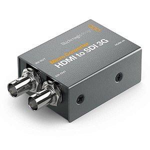 Micro Conversor Blackmagic Design HDMI Para SDI 3G Com Fonte