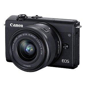 Canon EOS M200 Mirrorless com Lente 15.45mm