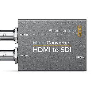 Micro Conversor Blackmagic Design HDMI para SDI com fonte