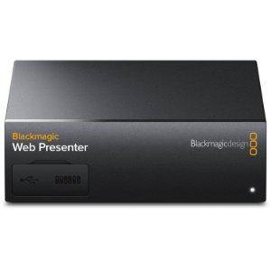 Interface Blackmagic Design Web Presenter