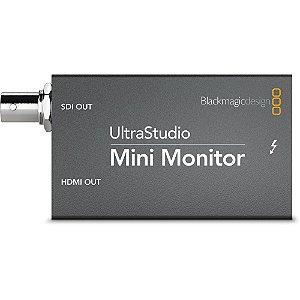 Interface de Monitoração Blackmagic Design Ultrastudio Mini Monitor