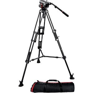 Tripé Manfrotto 504HD,546BK (Kit)