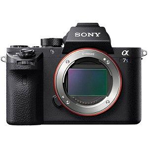 Câmera Sony A7S II ILCE-7SM2 Alpha de montagem tipo E com sensor Full Frame