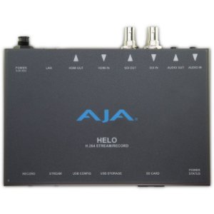 Encoder de Streaming AJA HELO H.264