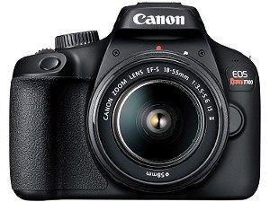 Câmera Canon EOS Rebel T100 com Lente EF-S 18-55mm 3.5-5.6 III