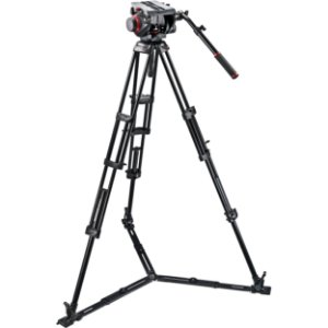 Tripé Manfrotto 509HD, 545GBK (Kit)