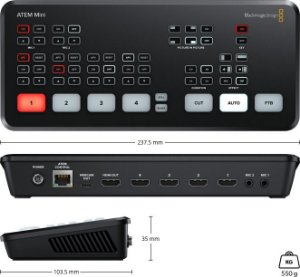 Switcher Blackmagic Design ATEM Mini