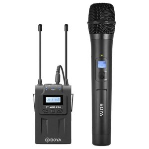 Microfone Portátil Sem Fio Boya BY-WM8 Pro