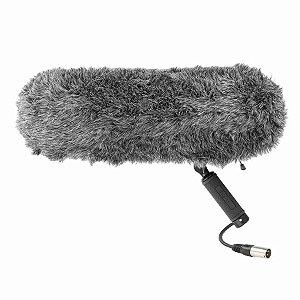 Microfone com Protetor de vento Boya BY-WS1000