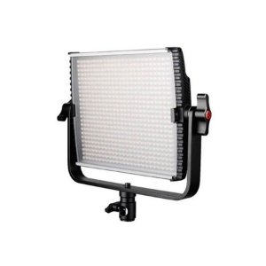 Kit Iluminador LED 600 Greika HS-600MB Pro Bi-color com Baterias Carregador e Fonte