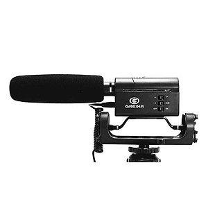 Microfone Shotgun Greika GK-SM10