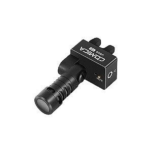 Microfone Shotgun Comica Audio CVM-VS09 com USB Tipo-C para Telefones Android