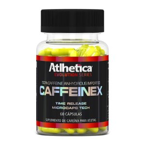 CAFFEINEX -90 CÁPS- (420MG)- ATLHETICA NUTRITION