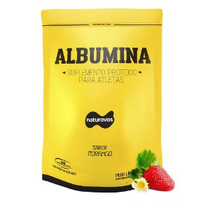 ALBUMINA ( 500G) NATUROVOS