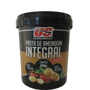 PASTA DE AMENDOIM ( 410 G ) INTEGRAL-US NUTRITION