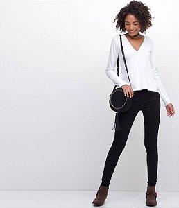 847cd7755 Calça feminina Rasgadinho - Nativa Black Jeans