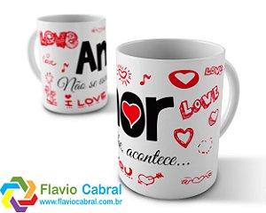 Caneca Dia Dos Namorados Amor