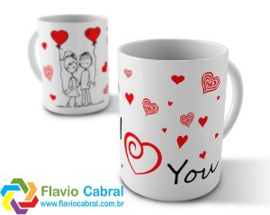 Caneca Love You