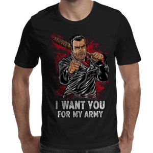 Camiseta I Want You - Masculina