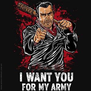 Camiseta I Want You - Masculina