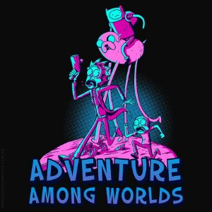 Camiseta Adventure Among Worlds - Masculina