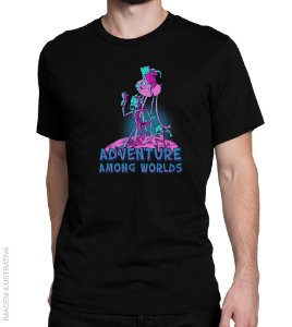 Camiseta Adventure Among Worlds