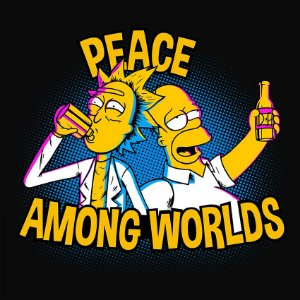 Camiseta Peace Among Worlds - Masculina