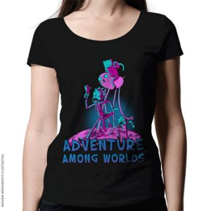 Camiseta Adventure Among Worlds - Feminina