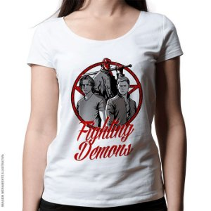 Camiseta Fighting Demons - Feminina