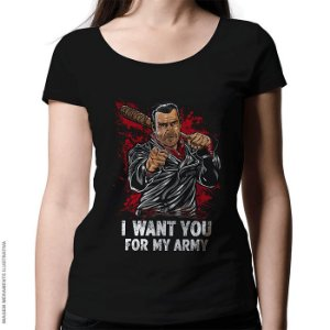 Camiseta I Want You - Feminina
