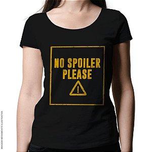 Camiseta No Spoilier - Feminina