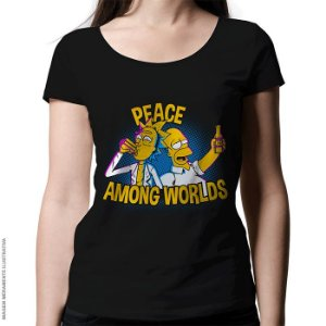 Camiseta Peace Among Worlds - Feminina