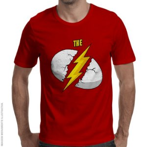 Camiseta The Flash Breakfast - Masculina