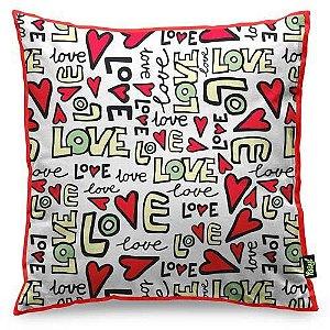 Almofada Textura Love