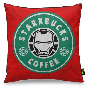 Almofada Geek StarkBucks Coffee