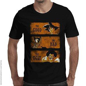 Camiseta Good Bad Ugly - Masculina