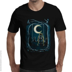 Camiseta Guardian Under The Moon - Masculina