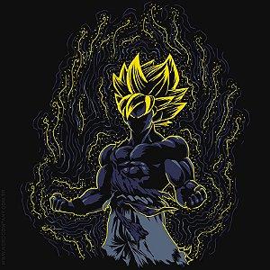 Camiseta Goku Impressionist Saiyan - Masculina