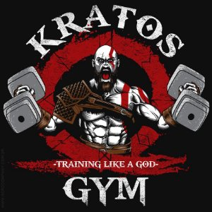 Camiseta Kratos Gym - Masculina
