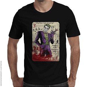 Camiseta Coringa Master Criminal - Masculina
