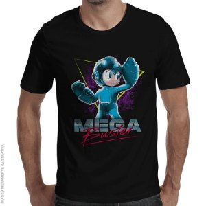 Camiseta Mega Buster