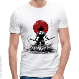Camiseta Goku Pure of Heart Warrior - Masculina