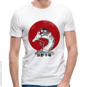 Camiseta Chihiro Red Run Spirit - Masculina