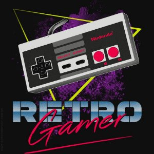 Camiseta Retro Gamer - Masculina
