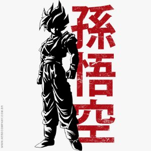 Camiseta Super Saiyan - Masculina