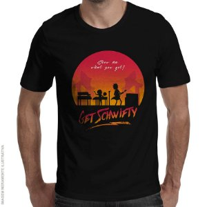 Camiseta Schwifty - Masculina