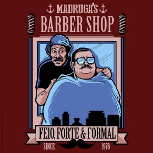 Camiseta Madruga's Barber Shop - Masculina